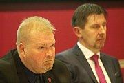 Třebíčští zastupitelé při volbě starosty 20. listopadu 2018.