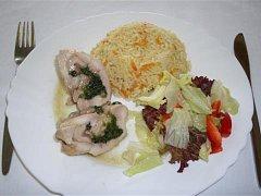Vítězný pokrm Centrální jídelny v Třebíči.