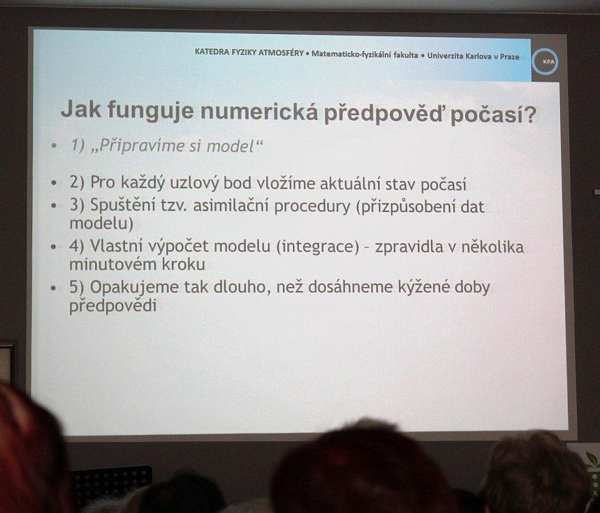 Třebíčský rodák, meteorolog a moderátor předpovědi počasí v České televizi Michal Žák.