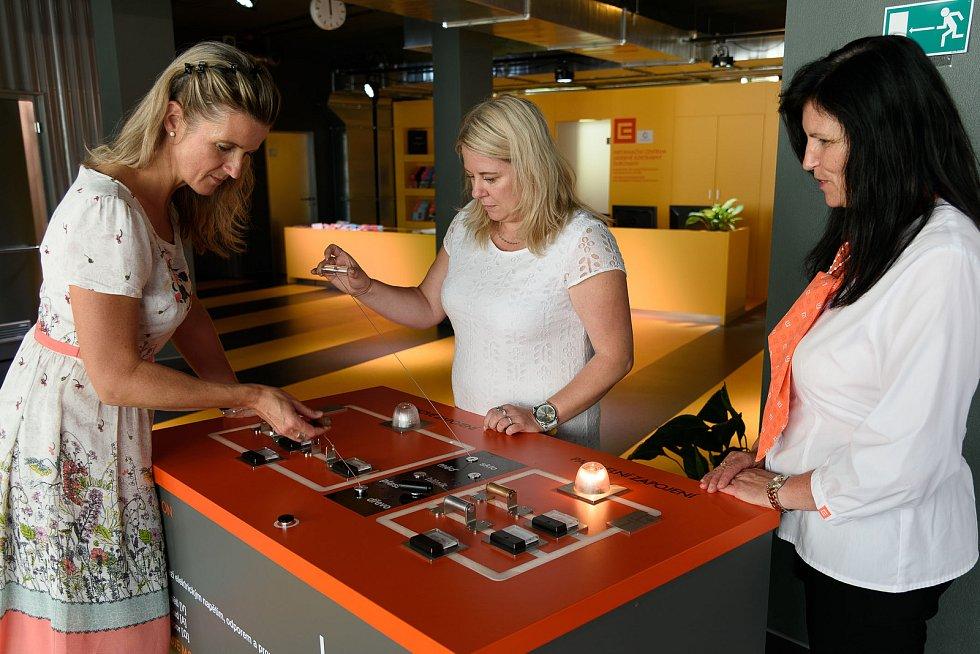 Model vodivosti, nový exponát v infocentru Jaderné elektrárny Dukovany.