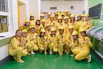 Ze setkání WIN Czech, tedy profesního sdružení žen pracujících v jaderných oblastech, 28. 3. 2019.