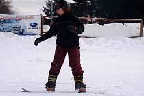 Ski areál na Jalovci.