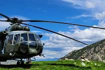 Vrtulník Mi-171Š na Mountain flight 2021.