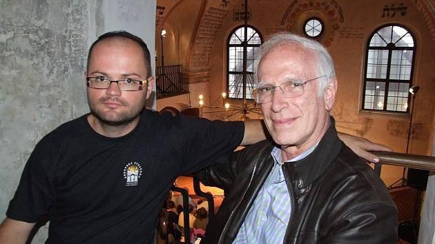 Na pozvání Pavla Kuči přijel Jean Trebitsch do Třebíče na festival Šamajim.