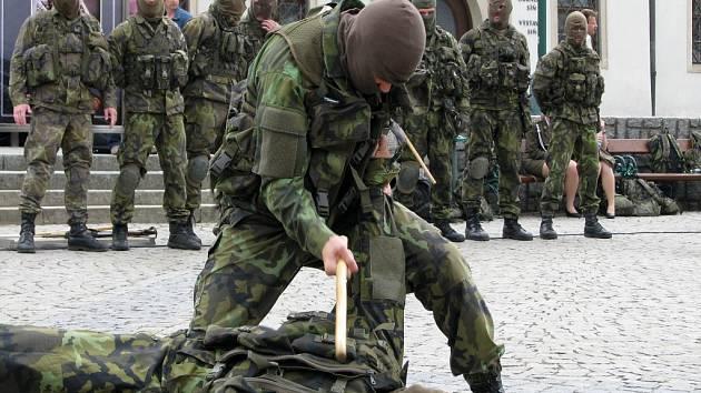 V centru Třebíče byl slavnostně zahájen Týden s armádou, který má přiblížit široké veřejnosti práci vojáků.
