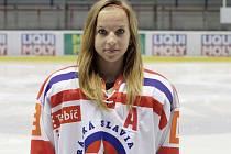 Hokejistka Škrdlová z Třebíče na mistrovství světa