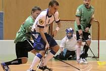 Snipeři (v bílém) odstartují novou sezonu prvním kolem českého poháru. Třebíčský klub také vstoupí do nové dekády své existence.