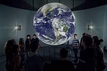 Unikátní projekční koule Science on a Sphere.