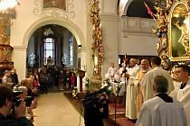 V kostele sv. Martina v Třebíči se uskutečnilo žehnání novým varhanám.