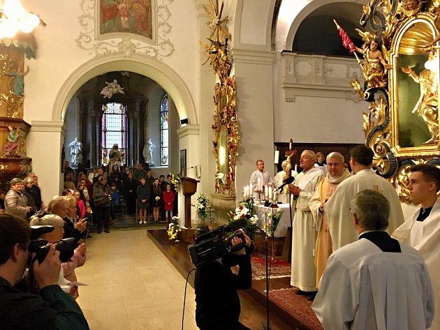 Nové varhany se rozezněly ve svatomartinském kostele v Třebíči