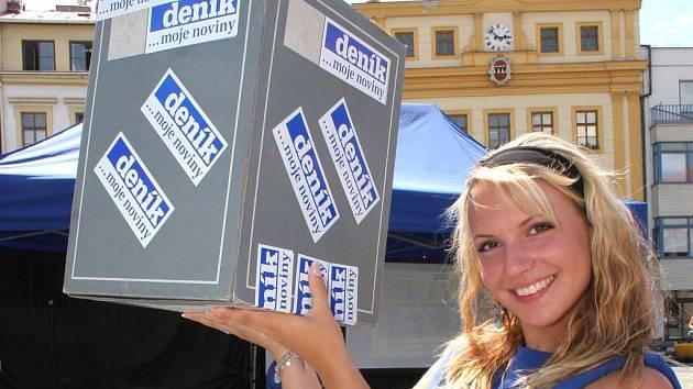 Loňský Den s Deníkem na Karlově náměstí v Třebíči.