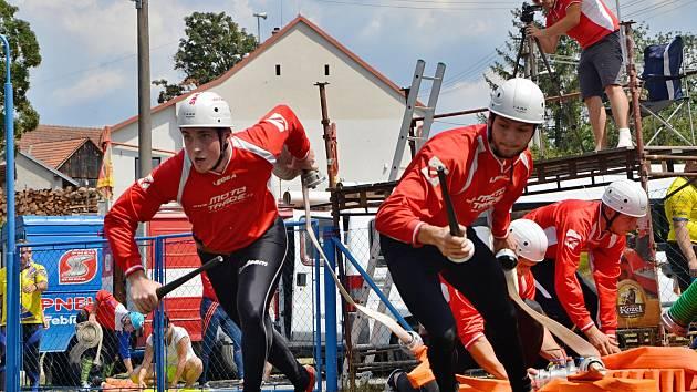 Dvě stě bodů. Mužské družstvo dobrovolných hasičů z Čechtína získalo nejvíce bodů v letošním kole Třebíčské okresní ligy.