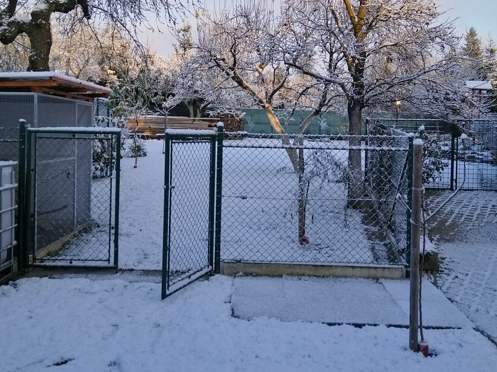Zasněžené Heraltice.
