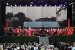Galakoncert 19. ročníku Mezinárodního hudebního festivalu Petra Dvorského v Jaroměřicích nad Rokytnou.