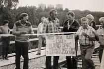 Borovinský most vedoucí přes Libušino údolí stojí v Třebíči od roku 1886. Kvůli zvyšujícímu se provozu byla 20. července 1987 zahájena výměna jeho konstrukce.