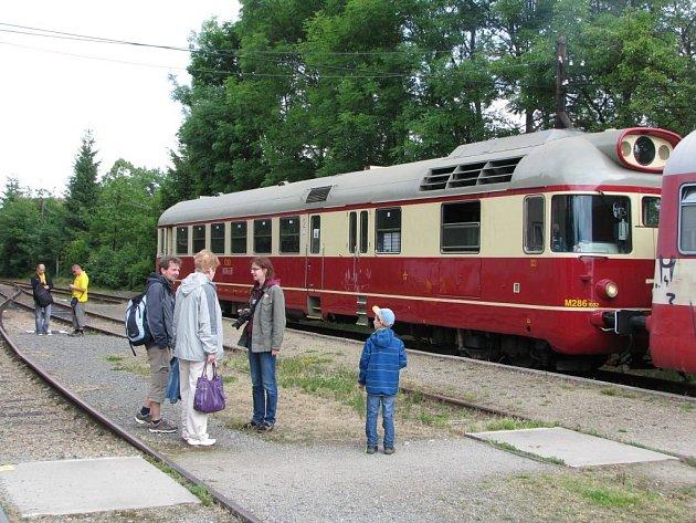 Barchanický vlak byl o uplynulém víkendu generálkou na letní provoz.