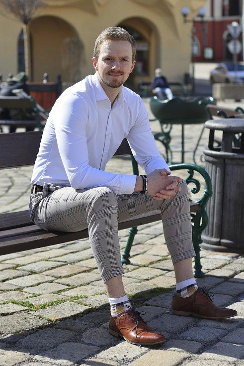 Finanční poradce Lukáš Siříště.