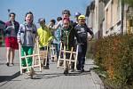 Velikonoční hrkání v Březníku na Třebíčsku.