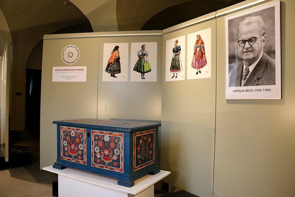 Výstava Když slunéčko zemi políbilo s podtitulem Pocta národopisci Vratislavu Bělíkovi v Muzeu Vysočiny Třebíč.