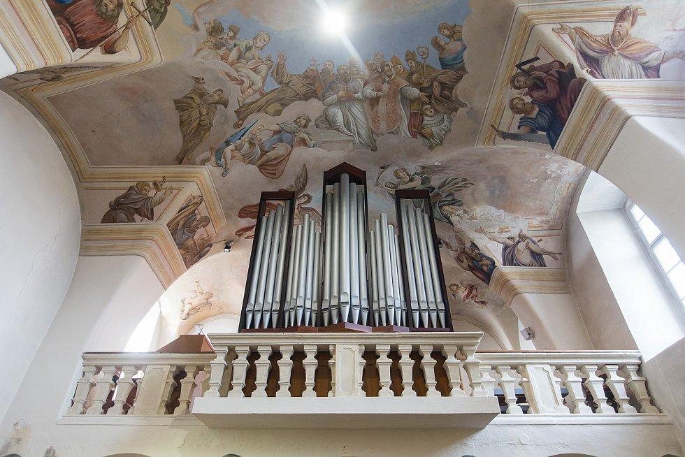 Kostel v Budišově na Třebíčsku.