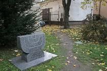 Park u třebíčského gymnázia.