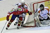 Prvoligoví hokejisté Třebíče i ve středu potvrdili vzrůstající formu, v přímém souboji se sousedem v tabulce zdolali Most 5:3.
