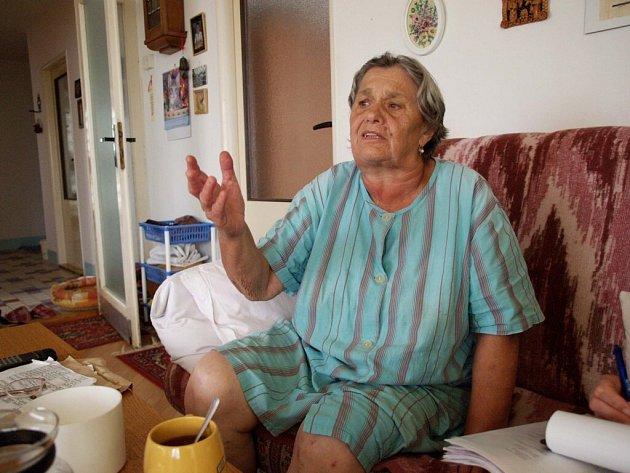 Obyvatelé, kteří žijí na konci Třebíče při výjezdu na Račerovice, jen nevěřícně přihlížejí stavebnímu ruchu.