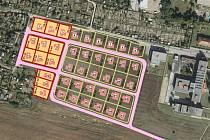 Nové pozemky město začne prodávat jakmile to umožní epidemická situace.