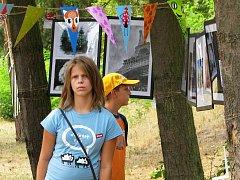 Výstava mladých umělců Úhel pohledu.