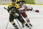 11. kolo 2. ligy skupina střed mezi HC Moravské Budějovice 2005 a BK Havlíčkův Brod.