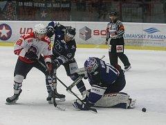 Utkání 34. kola WSM ligy mezi SK Horácká Slavia Třebíč a AZ Havířov.