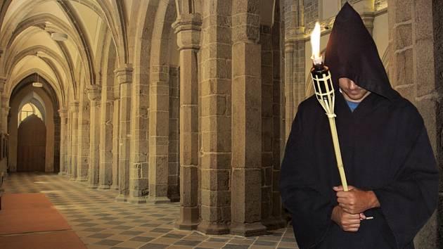V třebíčské bazilice se uskuteční divadelní noční prohlídky
