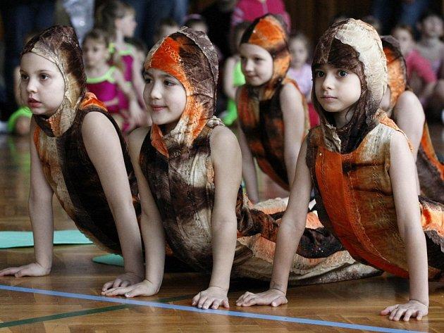 Ve sto šesti tanečních skladbách se představilo přes pět set tanečníků.