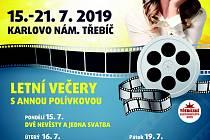 Na náměstí v Třebíči promítnou sedm filmů s Annou Polívkovou.