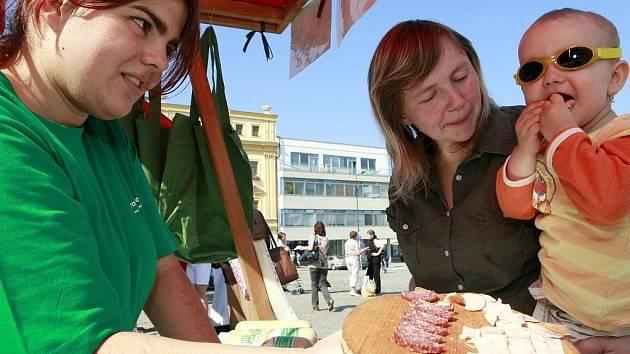 Tip Deníku: Bio jarmark na třebíčském náměstí