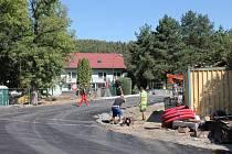 Most v Poušově. Investice města.