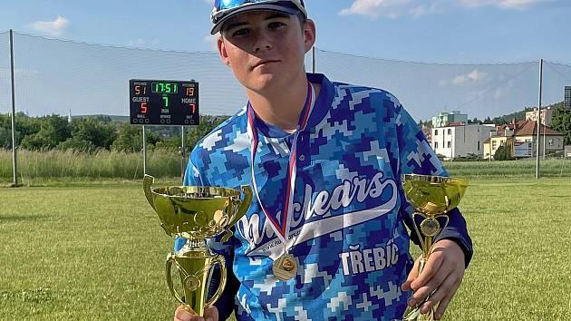 Nejužitečnějším hráčem turnaje byl na Českém baseballovém poháru U13 Morava vyhlášen Tomáš Venhoda z klubu Třebíč Nuclears.