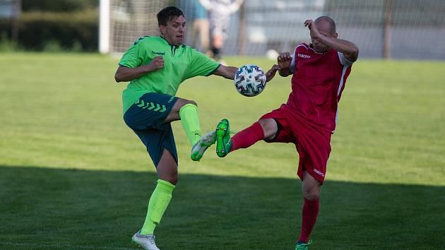 Fotbalisté Náměšti se budou muset na jaře obejít bez služeb útočníka Durdy