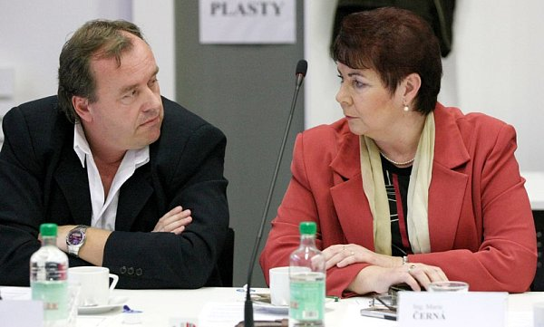 Radek Číhal a Marie Černá