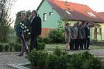 Pietní vzpomínka na tragické bombardování Dalešic na samém konci druhé světové války.