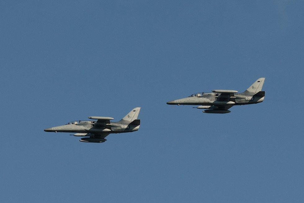 Cvičení se budou účastnit i letouny L-159.