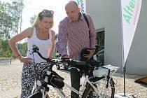 Z Boroviny na výlet vyveze lidi elektrokolo a elektroskútr