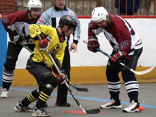 Hokejbalisté třebíčské Slzy prohrály ve Starém Brnu.