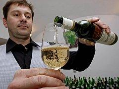 Ochutnávání vín v Moravských Budějovicích.