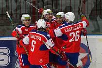 Třebíčští hokejisté své trenéry výkony i bodovým ziskem potěšili.