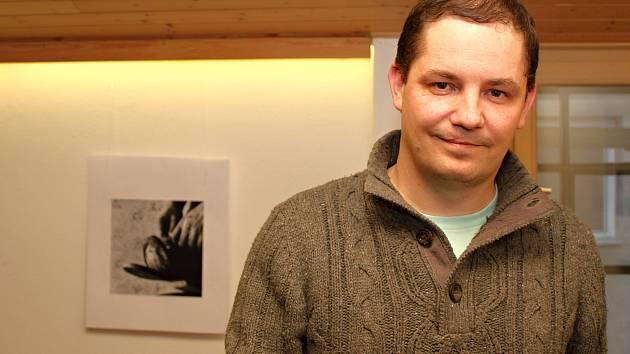 Výstava fotografií Otakara Stejskala v Cukrárně Za pecí.