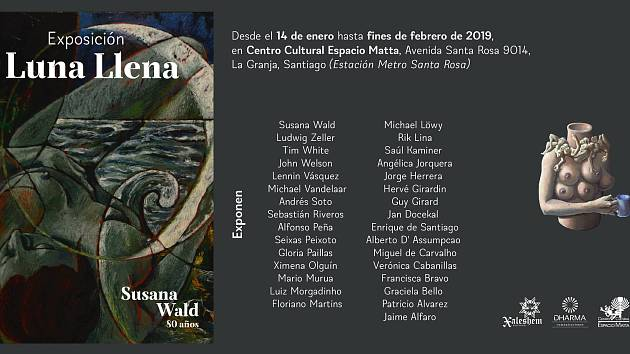 V Santiagu de Chile vystavují koláž Jana Dočekala