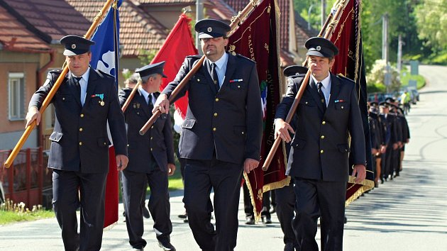 Hasičská pouť v Přibyslavicích oslavuje patrona hasičů