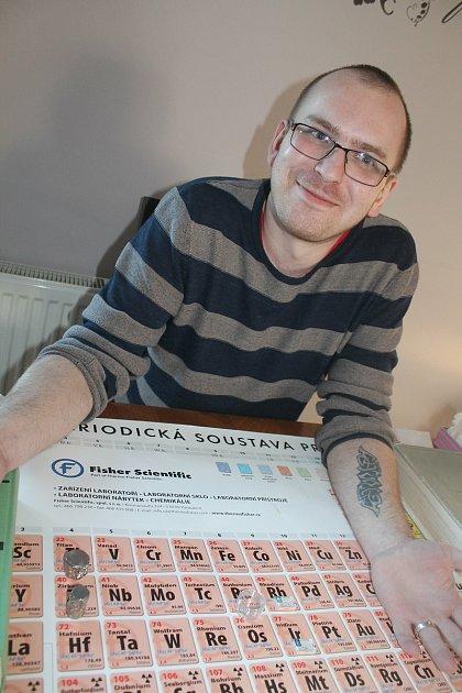 Chemik Miloš Večeřa