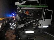 Hned dvě nehody celkem čtyř kamionů komplikovaly ve středu odpoledne a večer dopravu na vysočinské dálnici D1.